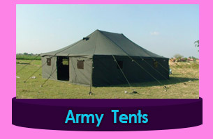 Bahamas Canvas army tents
