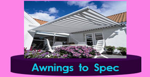 St.Georges Canvas Awnings for sale