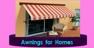 Riga Canvas awnings for home