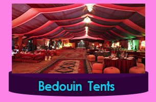 Astana Roof top Bedouin Tents