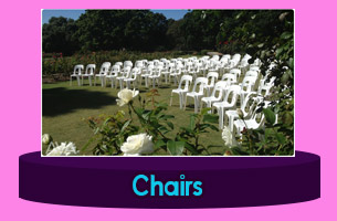 BandarSeriBegawan Catering Equipment Chairs