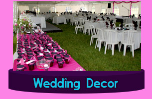Michigan Catering Equipment Wedding Decor