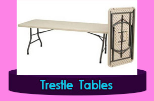 Tajikistan Trestle Tables