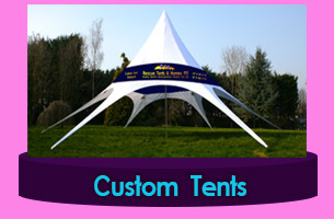 Tent from canvas Niger