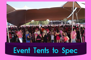 Knysna Canvas Tents for Functions