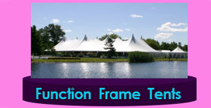 Maine large Frame Tent for sale