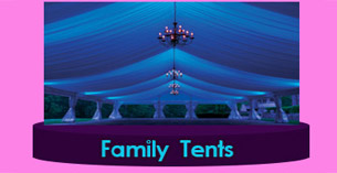 Port-Louis party frame Tent for sale