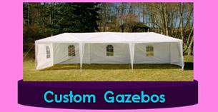 SouthSudan Garden wedding Tents