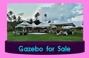 Canvas Gazebo manufacturers Suriname