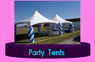 Caracas Custom Peg and Pole Tents