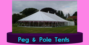 Dublin export Peg and Pole Tents