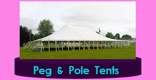 Dublin Garden wedding Tents