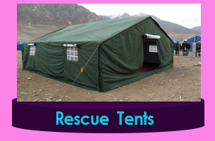 Canvas Emergency Tents