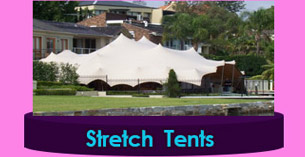 Cape Town large Stretch Tents