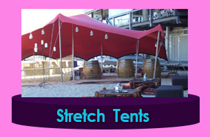 Indiana Nomadic Stretch Tents