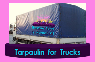 Nairobi Rescue tents and Homes 911 Tarp Tarpaulin Marquees