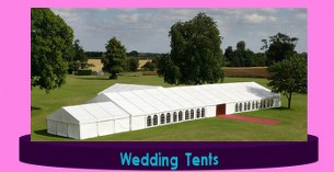 Garden wedding Tents